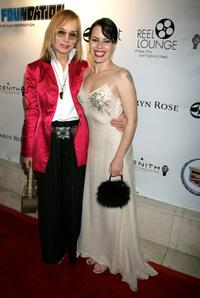 Fairuza Balk and Maggie Norris at the Reel Lounge Gala Benefit For The Film Foundation.