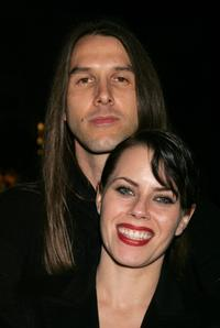 Fairuza Balk and guest at the Reel Lounge Gala Benefit For The Film Foundation.