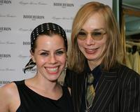 Fairuza Balk and Maggie Norris at the REEL Lounge Retreat at the Point De Vue Salon.