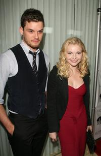 Austin Nichols and Izabella Miko at the Los Angeles Confidential Pre-Oscar party.