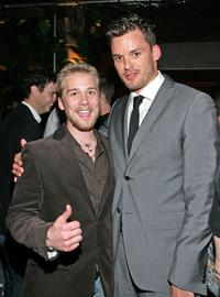 Lou Taylor Pucci and Austin Nichols at the after party of the premiere of