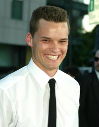 Austin Nichols at the world premiere of