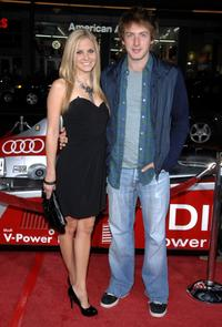 Nikki Griffin and Fran Kranz at the 2008 AFI FEST.