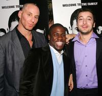 Matt Gerald, Kevin Hart and Anthony Fazio at the premiere of