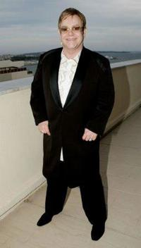 Elton John at the promotion of