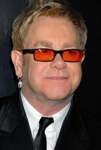 Elton John at the Rodeo Drive Walk of Style Awards.
