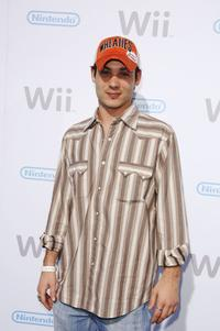 Mike Erwin at the launch party of the Nintendo