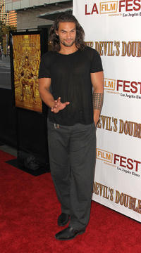 Jason Mamoa at the California premiere of