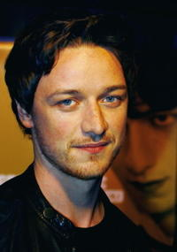 James McAvoy at the UK premiere of the