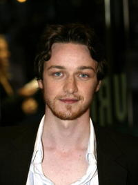 James McAvoy at the London premiere of