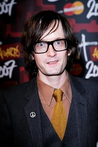 Jarvis Cocker at the BRIT Awards 2007.