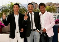 Sun Hong-Lei, Simon Yam and Louis Koo at the photocall of