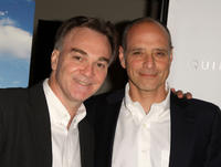 President of Magnolia Pictures Eamonn Bowles and Eric Schlosser at the New York premiere of