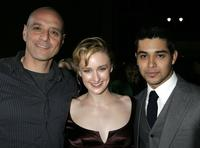 Eric Schlosser, Ashley Johnson and Wilmer Valderrama at the Los Angeles premiere of