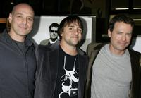 Eric Schlosser, Director Richard Linklater and Greg Kinnear at the Los Angeles premiere of