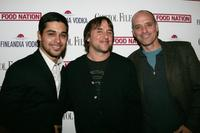 Wilmer Valderrama, Director Richard Linklater and Eric Schlosser at the after party of the premiere of