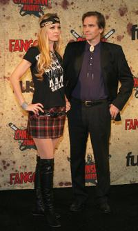 Sheri Moon Zombie and Bill Moseley at the fuse Fangoria Chainsaw Awards.