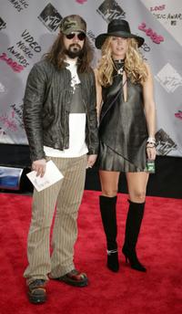 Rob Zombie and Sheri Moon Zombie at the MTV Video Music Awards.