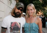 Rob Zombie and Sheri Moon Zombie at the premiere of