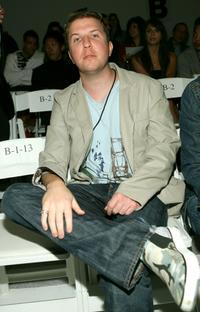 Nick Swardson at the Chick by Nicky Hilton Spring 2008 fashion show during the Mercedes Benz Fashion Week.