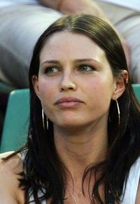 Sara Foster at the Australian Open 2007 match.