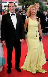 Jean Dujardin and Alexandra Lamy at the screening of