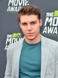 Nolan Funk at the 2013 MTV Movie Awards in California.