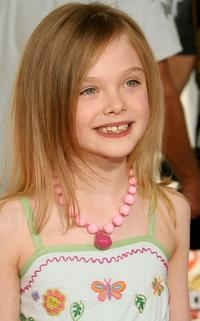Elle Fanning at the 20th Annual Kid's Choice Awards.
