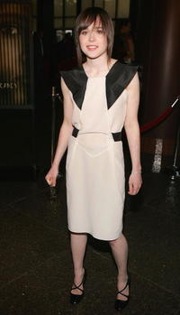 Ellen Page at the L.A. premiere of