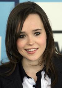Ellen Page at the 2008 Spirit Awards.