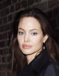 Angelina Jolie at the Launch Party of Banksy's