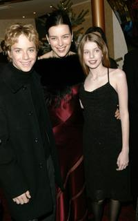 Jeremy Sumpter, Olivia Williams and Rachel Hurd-Wood at the world premiere of