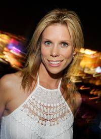 Cheryl Hines at the after party for the Ante Up for Africa celebrity poker tournament during the World Series of Poker.