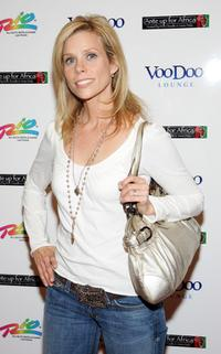 Cheryl Hines at the Ante Up for Africa celebrity poker tournament during the World Series of Poker.