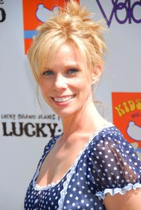 Cheryl Hines at the Kidstock Music and Art Festival.