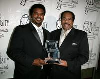 Craig Robinson and Leslie David Baker at the 15th Annual Diversity Awards.