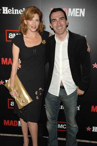 Melinda McGraw and Patrick Fischler at the AMC and Heineken's
