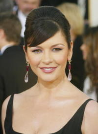 Catherine Zeta-Jones at the 61st Annual Golden Globe Awards.
