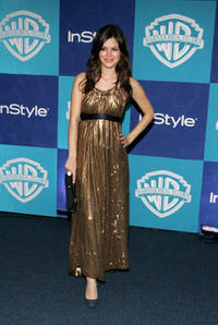 Rachel Bilson at the Warner Bros./InStyle Golden Globe after party in Beverly Hills.