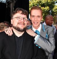 Director Guillermo del Toro and Doug Jones at the world premiere of