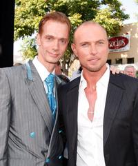 Doug Jones and Luke Goss at the world premiere of