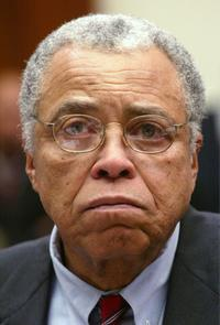 James Earl Jones at the U.S. House Holds Hearings on Literacy.