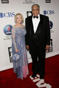 James Earl Jones and his wife Cici at the 59th Annual Tony Awards.