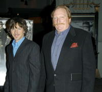 Jeffrey Jones and John Hawkes at the Hollywood premiere of