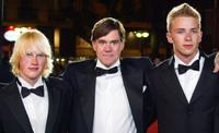 John Robinson, Director Gus Van Sant and Elias McConnell at the screening of