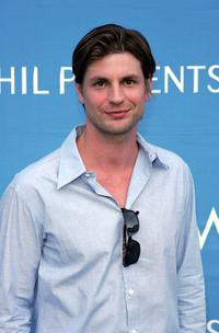 Gale Harold at the 8th Annual Hollywood Bowl Hall Of Fame Night honoring its Orchestra Founding Director John Mauceri and Tenor Placido Domingo.
