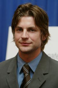 Gale Harold at the press conference of Hollywood and Broadway Salute to the Lesbian, Gay, Bisexual and Transsexual Community.