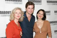 Blythe Danner, Gale Harold and Carla Gugino at the rehearsal of