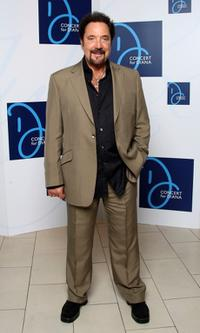 Tom Jones at the Concert for Diana.