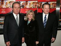 Tommy Lee Jones, Tipper Gore and Al Gore at the premiere of